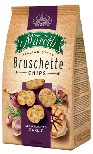 Bruschette Roasted Garlic 70g